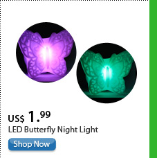 LED Butterfly Night Light