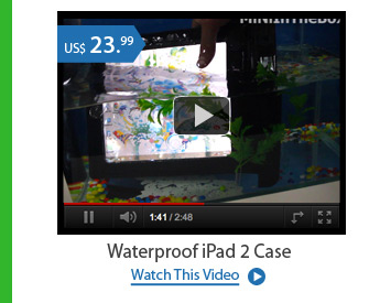 Waterproof iPad 2 Case
