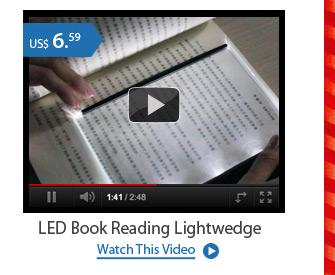 LED Book Reading Lightwedge
