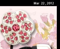 Blossom Flower Style Earphones