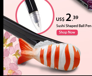 Sushi Shaped Ball Pen