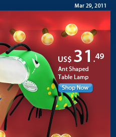 Ant Shaped Table Lamp