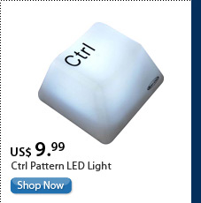 Ctrl Pattern LED Light