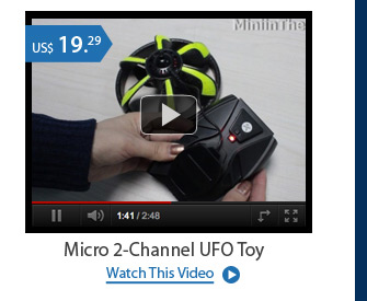 Micro 2-Channel UFO Toy