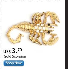 Gold Scorpion