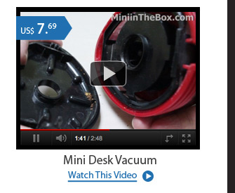 Mini Desk Vacuum
