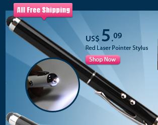Red Laser Pointer Stylus