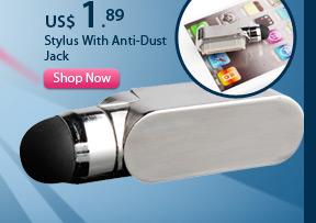 Stylus With Anti-Dust Jack