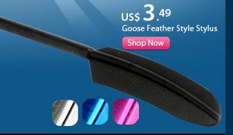 Goose Feather Style Stylus
