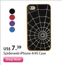 Spiderweb iPhone 4/4S Case