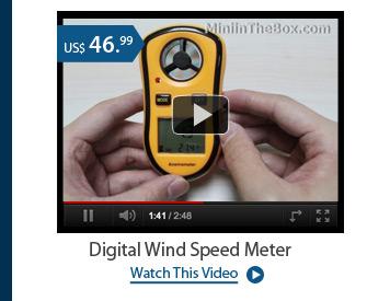 Digital Wind Speed Meter