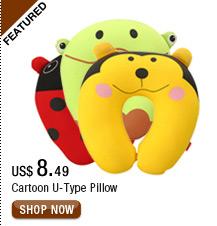 Cartoon U-Type Pillow