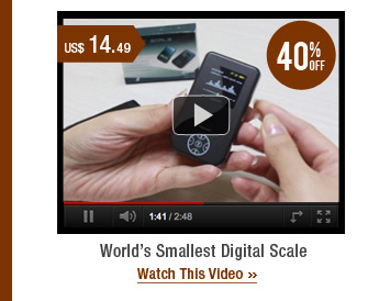 World's Smallest Digital Scale