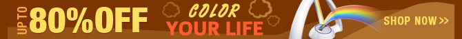 Up To 80% OFF Color Your Life