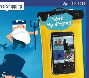 Waterproof iPhone 4 Armband