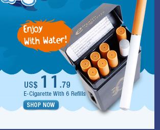 E-Cigarette with 6 Refills