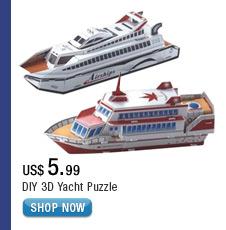 DIY 3D Yacht Puzzle