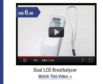 Dual LCD Breathalyzer