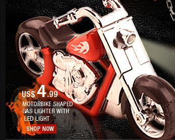 Motorbike Shaped Gas Lighter