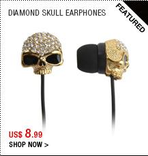 Diamond Skull Earphones