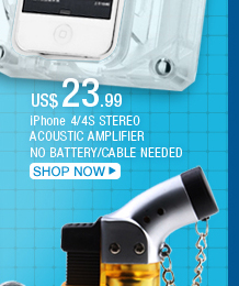 iPhone 4/4S Stereo Acoustic Amplifier