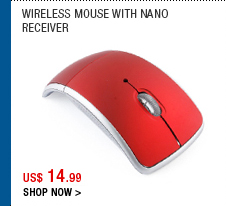 Wireless Mouse with Nano Receiver