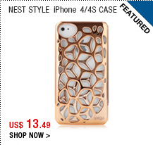 Nest Style iPhone 4/4S Case
