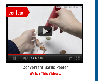 Convenient Garlic Peeler