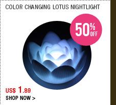 Color Changing Lotus Nightlight