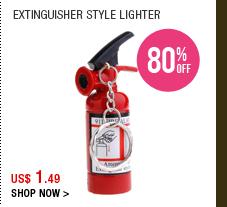 Extinguisher Style Lighter