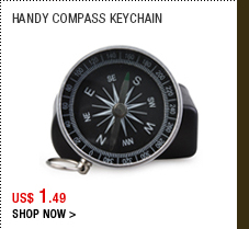Handy Compass Keychain