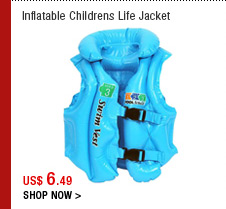 Inflatable Childrens Life Jacket