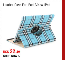 Leather Case For iPad 2/New iPad
