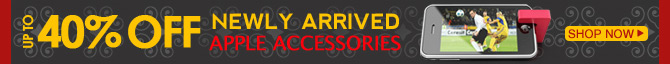 Newly Arrived Apple Accessories Up To 40% OFF