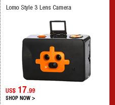 Lomo Style 3 Lens Camera