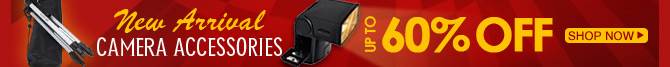 New Arrival Camera Accessories Up To 60% OFF