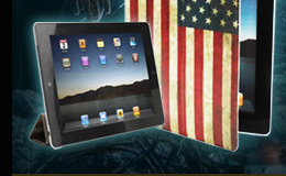 Captain America iPad 2 Case And Stand