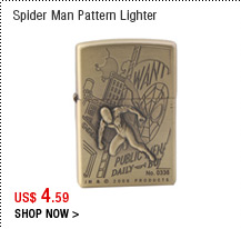 Spider Man Pattern Lighter