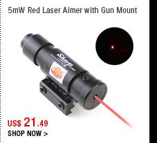 5mW Red Laser Aimer with Gun Mount