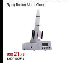 Flying Rocket Alarm Clock