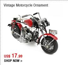 Vintage Motorcycle Ornament