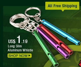 Long Slim Aluminum Whistle