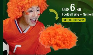 Football Wig – Netherlands