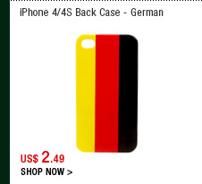 iPhone 4/4S Back Case - German