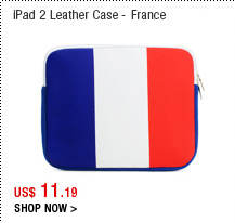 iPad 2 Leather Case - France