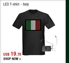 LED T-shirt - Italy
