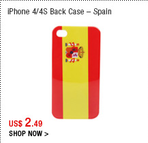 iPhone 4/4S Back Case – Spain