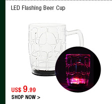 LED Flashing Beer Cup