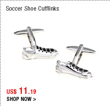 Soccer Shoe Cufflinks