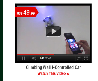 Climbing Wall i-Controlled Car